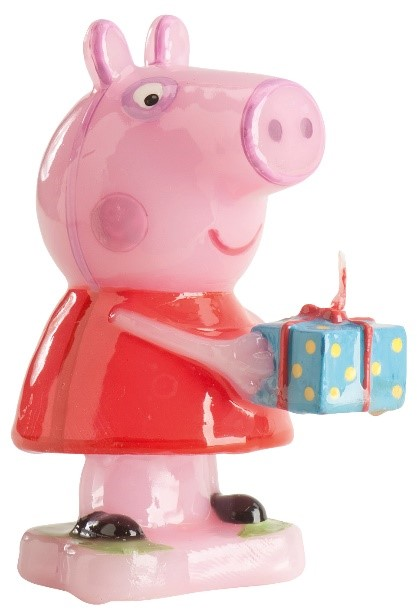 Bougie d'anniversaire Peppa Pig