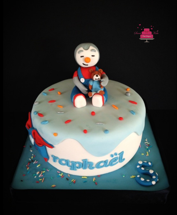 Gâteau d'anniversaire Tchoupi