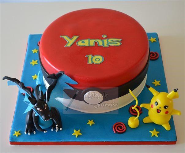 Gâteau d'anniversaire Pokemon