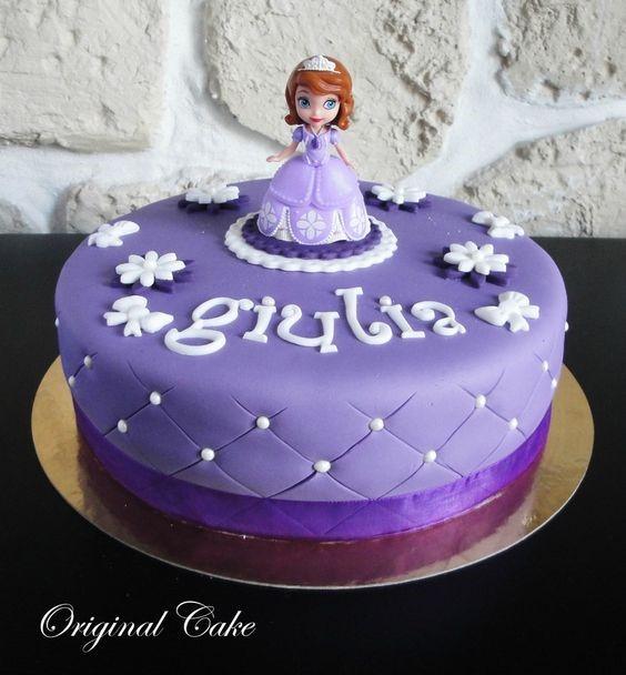 Gâteau d'anniversaire Princesse Sofia