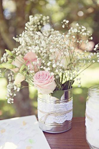 Vases en boite de conserve