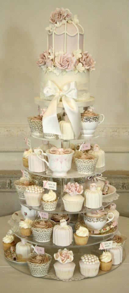 Cupcakes en tasses