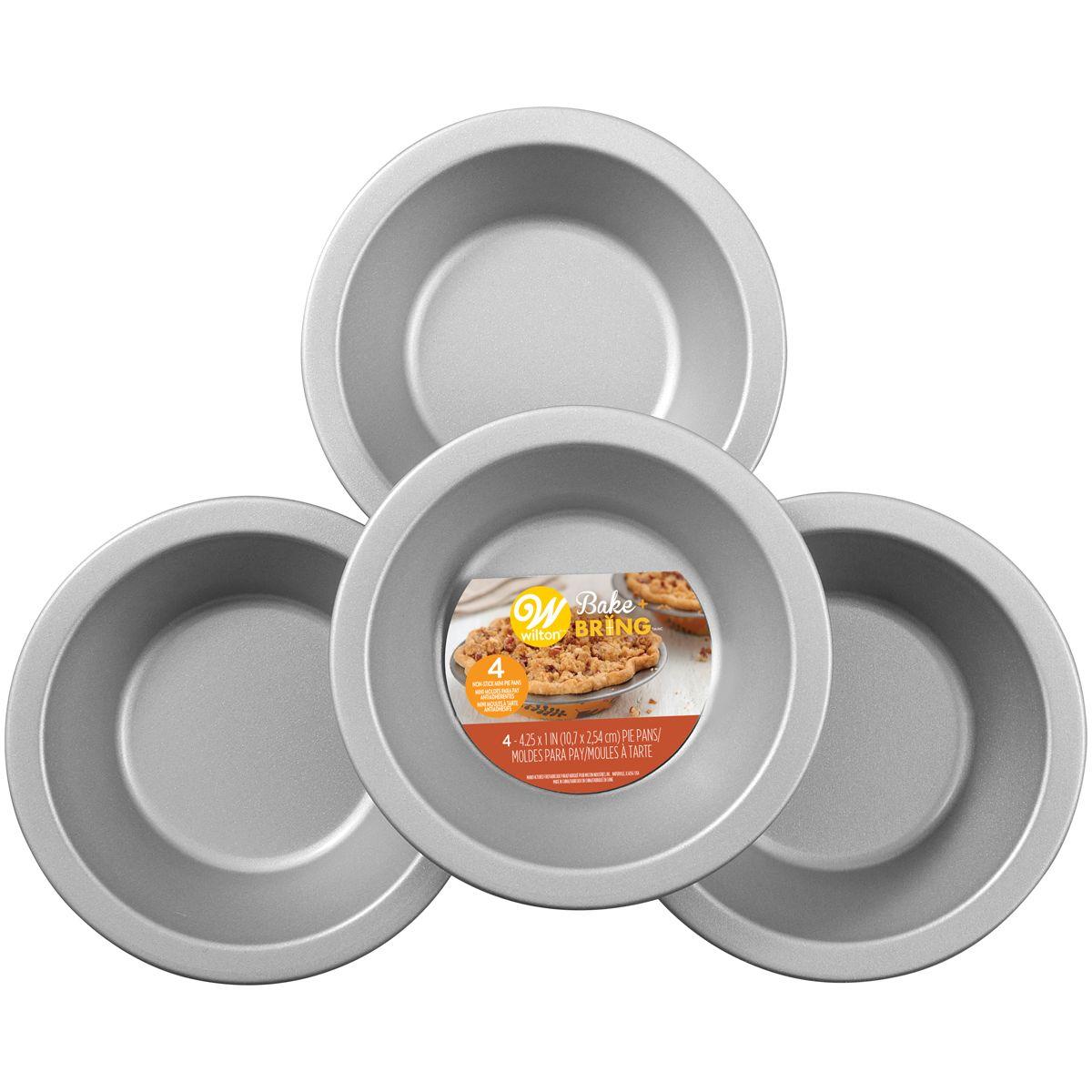 Wilton Semi Disposable Tin Mini Pie Pan Autumn Pk 4 St 252 Ck