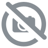 8  square Foil Plates 23cm ROSE Gold, carton